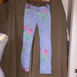 Lilly Pulitzer perwiwinkle pink Lily pants 4